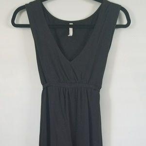 Old Navy Black Tea Dress